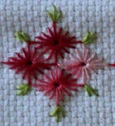 31 Ideas for embroidery flowers stitches crazy quilting Embroidery Cards, Hardanger Embroidery, Learn Embroidery, Hand Embroidery Designs, Ribbon Embroidery, Cross Stitch Embroidery, Embroidery Patterns, Cross Stitch Borders, Cross Stitching