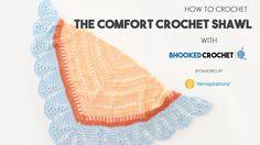 Crochet Comfort Shawl by Yarnspirations
