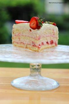 Polish Desserts, Vanilla Cake, Food And Drink, Cooking Recipes, Mascarpone, Backen, Food Recipes, Chef Recipes, Recipes