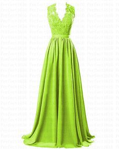 STOCK New Long Chiffon Formal Prom Party Ball Bridesmaid Evening Dress Size 6-20