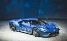 2017 Ford GT. Twin-turbo 3.5L V6, 600+hp.