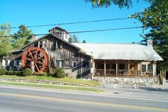 The Old Mill restaurant in Old Forge, NY.