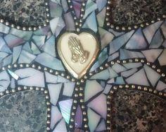 Decorative Mosaic Cross