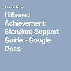 Unpack Achievement Standard: Shared Achievement Standard Support Guide - Google Docs Australian Curriculum, Google Docs, Digital Technology, Teacher Resources, Coding, Education, Onderwijs, Learning, Programming