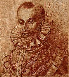 """Luís Vaz de Camões (1524 - 1580) foi um poeta de Portugal, considerado uma das maiores figuras da literatura em língua portuguesa e um dos grandes poetas do Ocidente. Autor do poema """"Os Lusíadas""""(1572), uma das obras mais importantes da literatura portuguesa, que celebra os feitos marítimos e guerreiros de Portugal. É o maior representante do Classicismo português."""