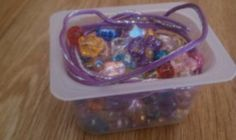 Up-cycle empty baby food containers to make these small craft boxes for kids.