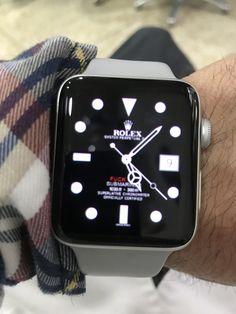 Apple Watch Men, Apple Watch Fashion, Apple Watch Series 2, Apple Watch Custom Faces, Apple Watch Faces, Cool Watches, Rolex Watches, Watches For Men, Wrist Watches