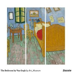 Liven up the walls of your home or office with Van Gogh wall art from Zazzle. Check out our great posters, wall decals, photo prints, & wood wall art. Wood Wall Art, Wall Art Decor, Van Gogh Prints, Van Gogh Art, Triptych, Wall Decals, Bedroom, Poster, Painting