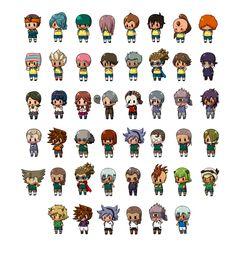 Inazuma eleven go chrono stone inazuma eleven et go - Lego inazuma eleven ...