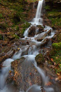 Waterfall, Parkin Clough.