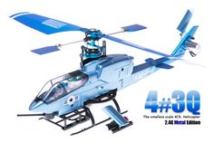 Shop By Brands :: Walkera Helicopters :: Walkera 4#3Q Mini Metal 4 Channel RC Helicopter - RC Helicopter Select: Top Radio Control Helicopters from Top Brands