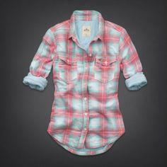 Bettys Malaga Beach Quilted Shirt | Bettys Shirts | HollisterCo.com