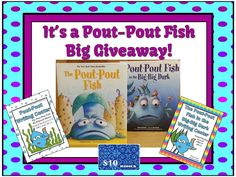 The Pout-Pout Fish Giveaway Winner Is. This post also has terrific FREE Pout-Pout book videos! Pout Pout Fish, Ocean Unit, Teacher Blogs, Teacher Stuff, First Grade Classroom, Author Studies, Book Study, Teacher Favorite Things, Writing Workshop