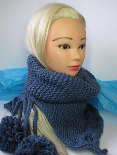 Loop Scarf, Acrylic Colors, Pattern, Etsy Shop, Fashion, Scarf Knit, Headband Bun, Scarves, Nice Asses