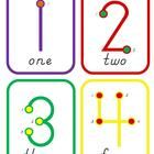 I developed this for a few struggling students in my class. It contains a poster and number line with all 9 numbers, as well as flashcards and a pa. Future School, 1st Day Of School, Pre School, Math Tutor, Math Skills, Touch Math, Math Poster, School Readiness, Graphic Organizers