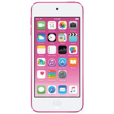 iPod touch is the perfect way to carry your music, games and photo collection in your pocket. The iPod Touch is a multiuse compact device that will amaze you. Galaxy S3, Social Networking Apps, Note Reminder, Ipod Touch 6th Generation, Buy Apple, Music App, Ipod Nano, Retina Display, Apple Music