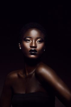 I am in awe of how amazing African American skin looks in photos.  I'm afraid everyone I know who has this gorgeous skin tone may start feeling like I'm stalking them with a camera!