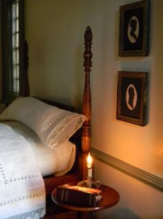 miniature Colonial bedroom, wish there was a link to the original source