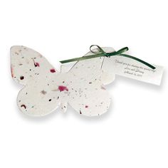 ;ove love love what a great idea goes perfect with my theme-Plantable Butterfly Favor