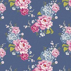 Tilda 50x70 cm Flowerpatch Blue