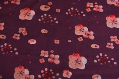Stoff Voile Haiku Cherry Blossoms | www.pom-pon.ch Pom Pon, Cherry Blossoms, Haiku, Kids Rugs, Decor, Fabrics, Decoration, Cherry Blossom, Kid Friendly Rugs