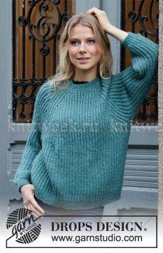 Ravelry: Lagoon pattern by DROPS design Baby Knitting Patterns, Scarf Patterns, Drops Design, Laine Drops, Drops Patterns, Knit Crochet, Knit Cowl, Hand Crochet, Sweaters For Women