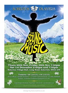 The Sound of Music Poster Design