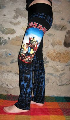 Iron Maiden The Trooper Lounge Pants Small/Medium By Vicmes ClothingAWESOME WANT!!!!!