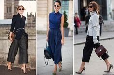 How To Wear Culottes To The Office | sheerluxe.com