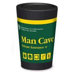 Reusable Coffee Cup, Man Cave, Coffee Cups, Container, Drinks, Fun, Gifts, Design, Drinking