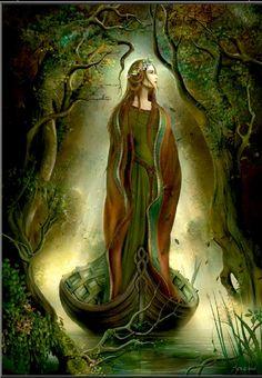 Lady of Avalon * Lovely lightning *