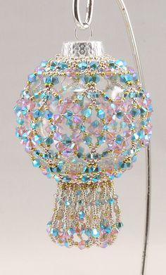 Instructions for Crystal Marvel Ornament Beading by njdesigns1 - pattern $10.00