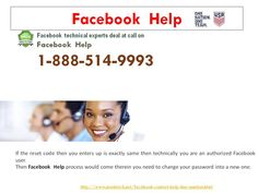 Is #FacebookHelp @1-888-514-9993 really reliable?http://www.monktech.net/facebook-contact-help-line-number.html