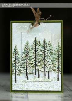 Pop Up Card made using Stampin' Up Products - with Michelle Last | Thoughtful Branches