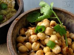 Ginger Lemon Chickpea Sprouts
