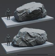 Unreal Tournament Forums Zbrush Environment, Environment Concept Art, Environment Design, Level Design, Fake Rock, Unreal Tournament, Hand Painted Textures, Landscape Concept, Concrete Art
