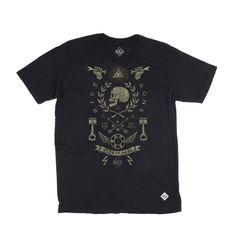 RIDE&SONS Historia Tee-shirt Black Artist: BMD