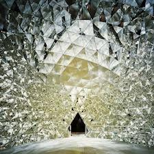 Swarovski crystal dome 'chamber of wonder' at the crystal world, Austria   @http://kristallwelten.swarovski.com/Content.Node/Startseite.en.html