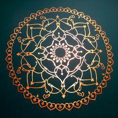 Mandala - wall decoration by ...BELL..., via Flickr