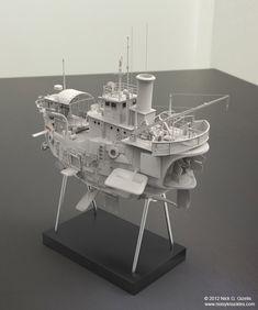 Floating Ship Concept view 2 by AUMAKUA70.deviantart.com on @DeviantArt