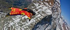 Some people aspire to be doctors, some firefighters or ballerinas, and well this guy decides to jump from Mount Everest in a wing suit
