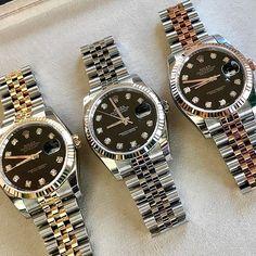 DATEJUST 36 mm Make your pick ... Ref 116233 Ref 116234 Ref 116231 ... | http://ift.tt/2cBdL3X shares Rolex Watches collection #Get #men #rolex #watches #fashion