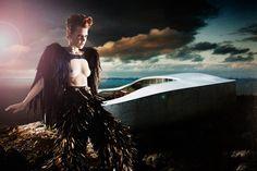 """Nordic"": Photography: Simone Schneider, Styling: Irmela Schwengler, Hair & Make Up: Kerstin Hajdu, Model: Laura/ MajorModel"