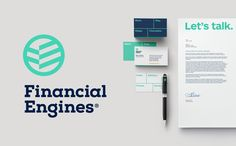 Ideally a company's design communicates the core values of its brand, and it does so at a glance. Financial Engines, best known for its workplace retirement-planning services, is committed to bringing order to people's lives so they can reach their goals.…