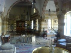 Debbaneh Palace, Saida Lebanon   I have stood in this room! Amazing!
