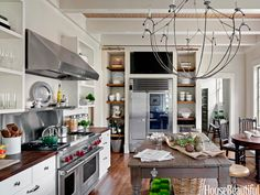 Kitchen of the Month, May 2012. Design: Mary Jo Bochner. housebeautiful.com.