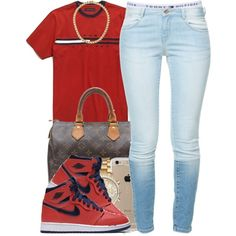 Tommy by polyvoreitems5 on Polyvore featuring Zara, Topshop, Louis Vuitton, Michael Kors, Speck and NIKE