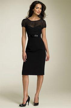 Calvin Klein Illusion Sheath Dress