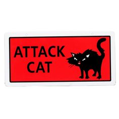 Hillman Sign Center - Attack Cat ** Want to know more, click on the image. (This is an affiliate link) #CatApparel