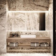 """""""This bed & bath combo goes crazy 🤯"""" Modern Luxury Bedroom, Luxury Home Decor, Luxurious Bedrooms, Modern Interior, Marble Look Tile, Different House Styles, Interior Design Photography, Bathroom Inspo, Bathroom Inspiration"""
